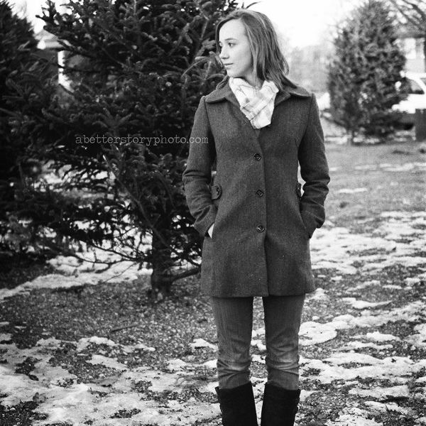 Ashley. a shoot on film.